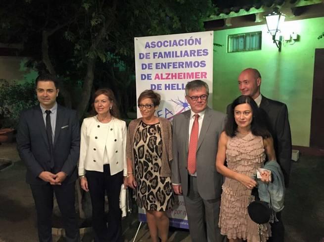 Imagen: La consejera de Bienestar Social expresa el apoyo del Gobierno de Castilla-La Mancha a la asociación AFA Hellín con motivo de su X Aniversario