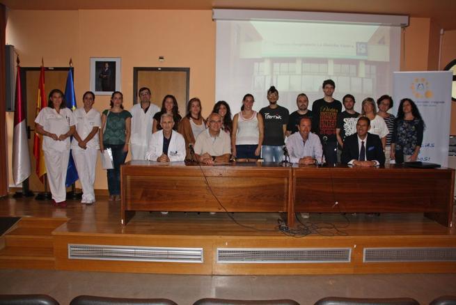 Imagen: Mancha Centro da la bienvenida a la séptima promoción de alumnos del Ciclo de Anatomía Patológica y Citología