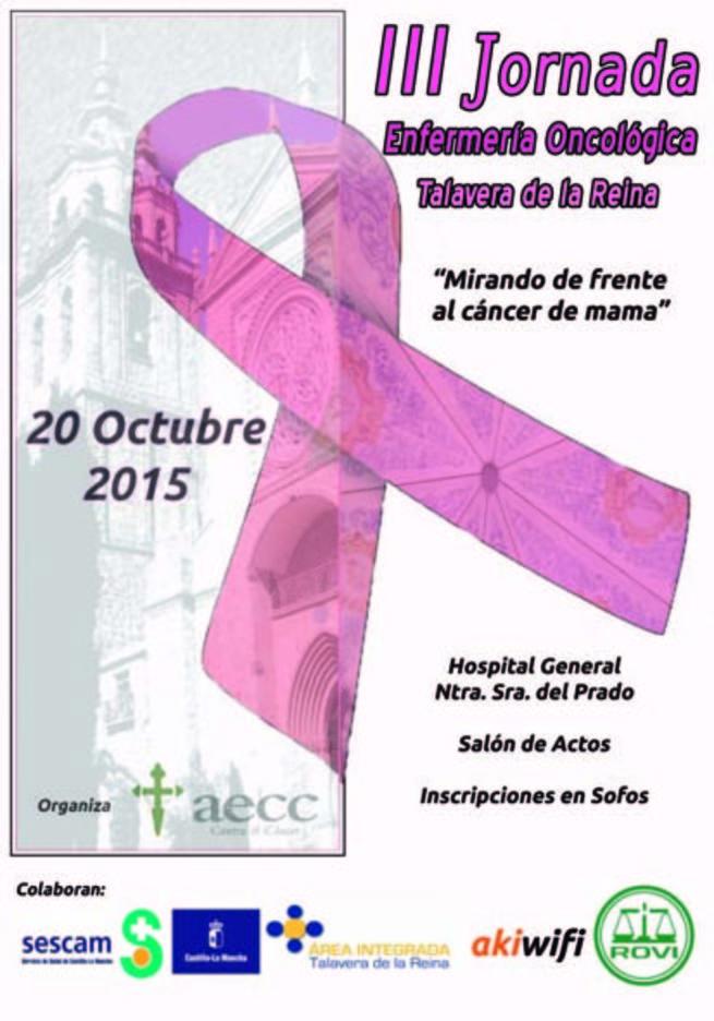Imagen: Profesionales de enfermería y voluntarios de la Asociación Española Contra el Cáncer participarán en la III Jornada de Enfermería Oncológica en el Hospital de Talavera