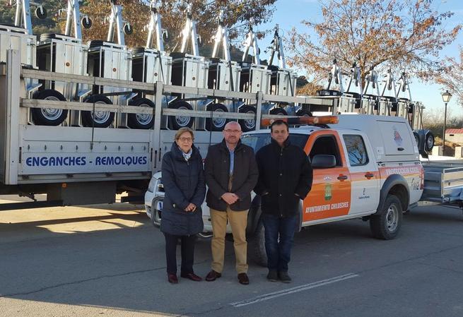 Imagen: El Gobierno de Castilla-La Mancha finaliza la entrega de medios materiales concedidos este año a 158 agrupaciones de Protección Civil