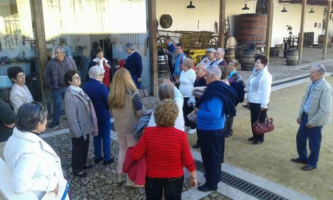Imagen: El taller de empleo 'Turismo Activo Valdepeñas' realiza rutas turísticas para diferentes colectivos