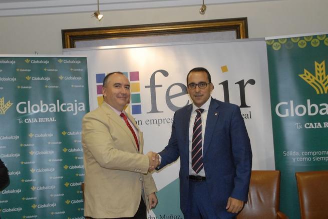 Imagen: Globalcaja y FECIR firman un convenio para mejorar el sector empresarial en Ciudad Real