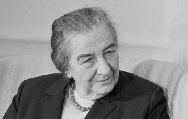 Imagen: Mujeres que dejaron huella en la historia, Golda Meir