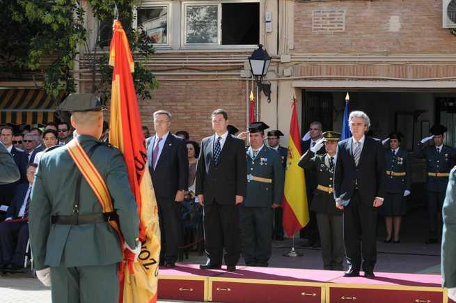 """imagen de El alcalde de Toledo agradece la """"valentía"""" de la Guardia Civil y recuerda el papel de España en el descubrimiento de América, en el Día del Pilar"""