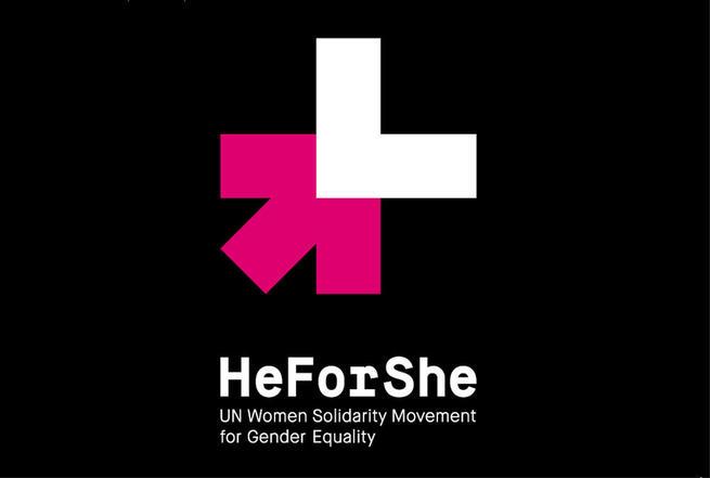 Imagen: La UCLM se suma a la campaña HeForShe, promovida por la ONU a favor de la igualdad de género