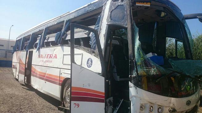 imagen de Una colisión múltiple deja 53 heridos en Manzanares, dos de ellos graves
