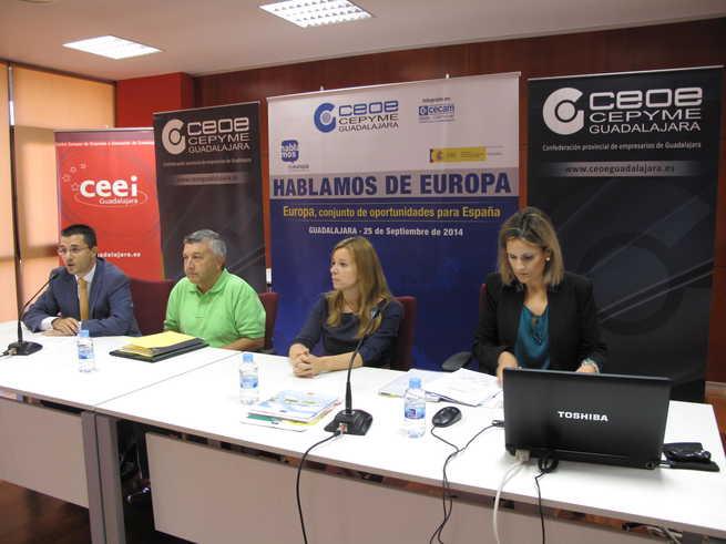 imagen de Los empresarios de Guadalajara se forman en normativa europea medioambiental