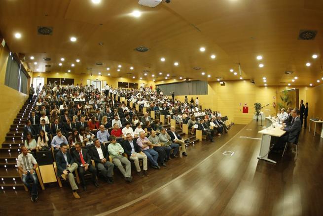 Imagen: Globalcaja, reconocida por la Escuela Técnica Superior de Ingenieros Agrónomos y Montes de la UCLM