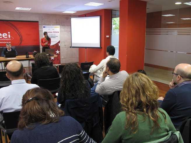imagen de El CEEI de Guadalajara explica a los emprendedores las guías de financiación comunitaria