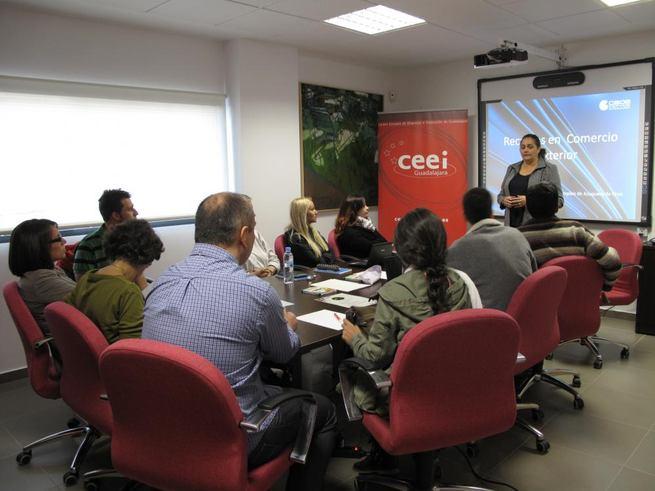 Imagen: El CEEI de Guadalajara forma y asesora a cuarenta emprendedores de el Casar y Azuqueca