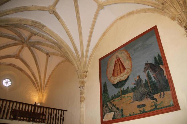 Imagen: Los frescos de la Ermita de los Enebrales recuperan su esplendor original