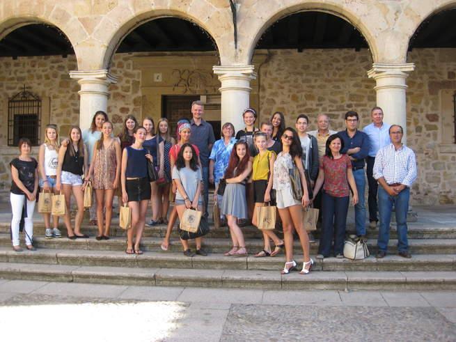 imagen de Un grupo de berlineses aprendió español en Sigüenza de la mano de la empresa Segontiae