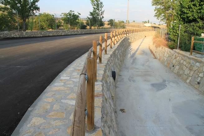 imagen de El Ayuntamiento de Tamajón renueva el Paseo de Solosaces