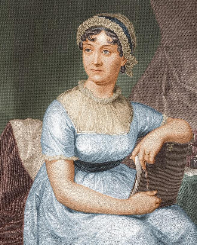 Imagen: Mujeres que dejaron huella en la historia, Jane Austen