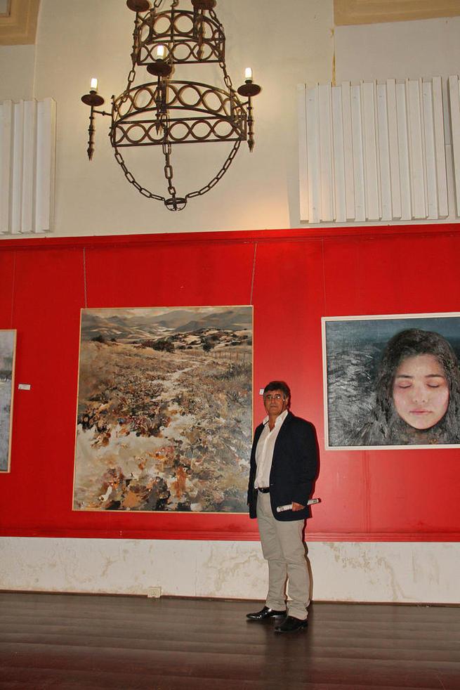 Imagen: 'Los Alcornocales' gaditanos de Pedro Lobato Hoyos, primer premio Fermín Santos