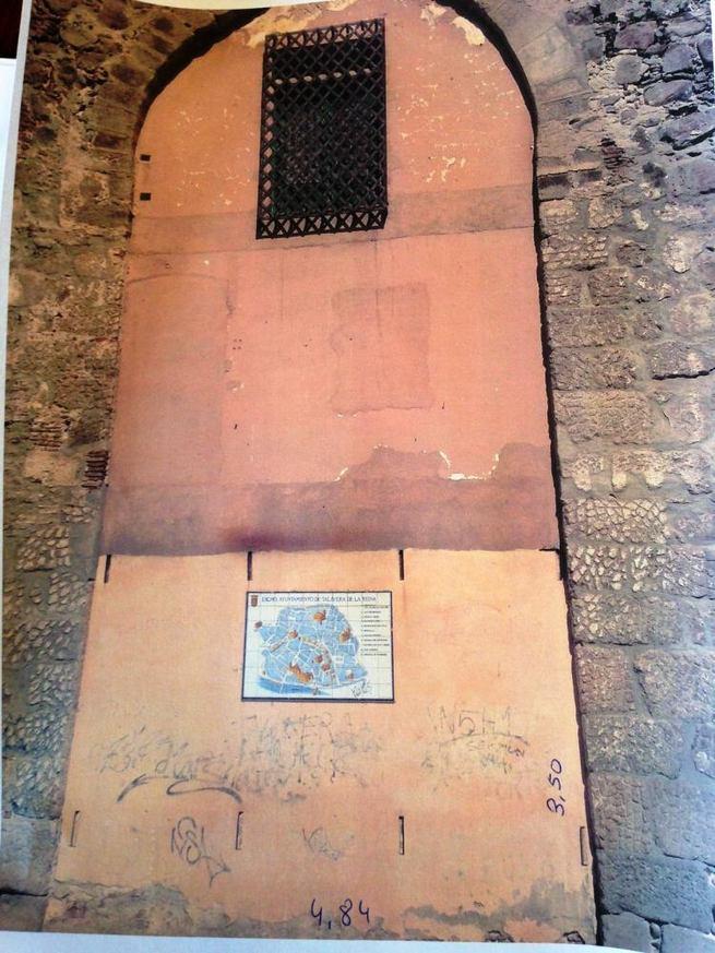 Imagen: Ramos anuncia que un mural cerámico decorará la torre Albarrana de la Calle Carnicerías