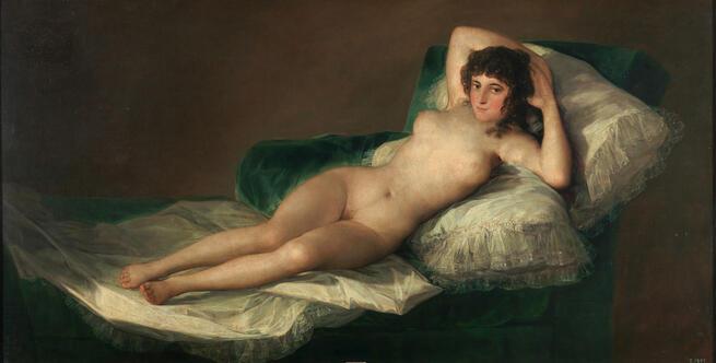 imagen de La maja desnuda