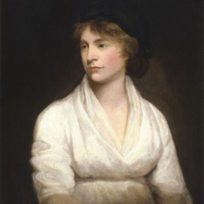 Imagen: Mujeres que dejaron huella en la historia, Mary Wollstonecraft