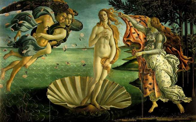 imagen de El nacimiento de Venus