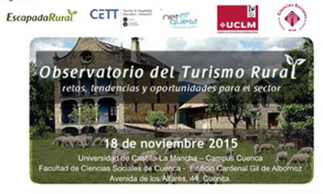 Imagen: Patricia Franco inaugura la jornada del Observatorio del Turismo Rural en la UCLM