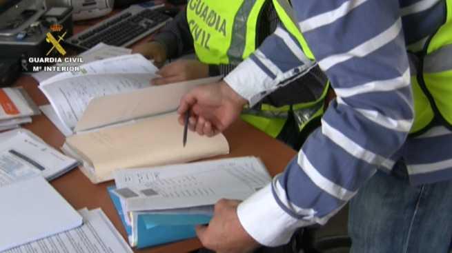 imagen de La Guardia Civil desarticula una organización que había  estafado a cerca de 200 personas con falsas pólizas de seguro