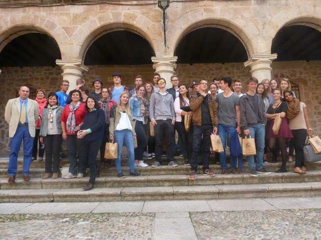 imagen de Sigüenza recibe por cuarto año consecutivo a estudiantes de la ciudad suiza de Winterthur