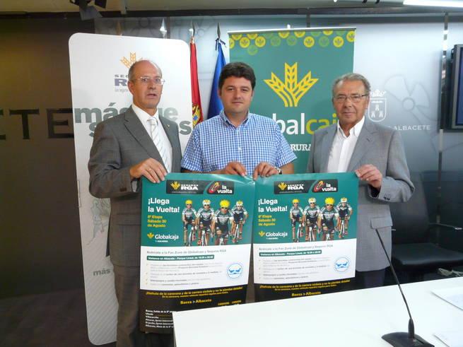 """imagen de """"Pedaladas solidarias"""" con la llegada de la Vuelta Ciclista a Albacete"""