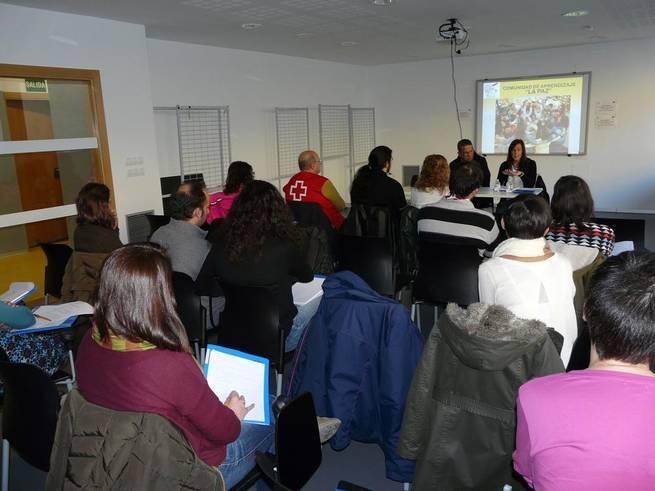 Imagen: María Gil asiste a las primeras Jornadas de Voluntariado
