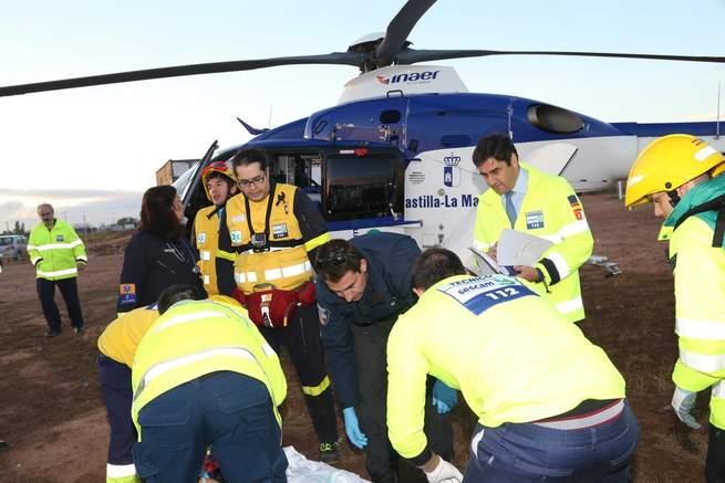 imagen de Castilla-La Mancha dispone de un moderno servicio de emergencias capaz de dar respuesta eficaz a una catástrofe