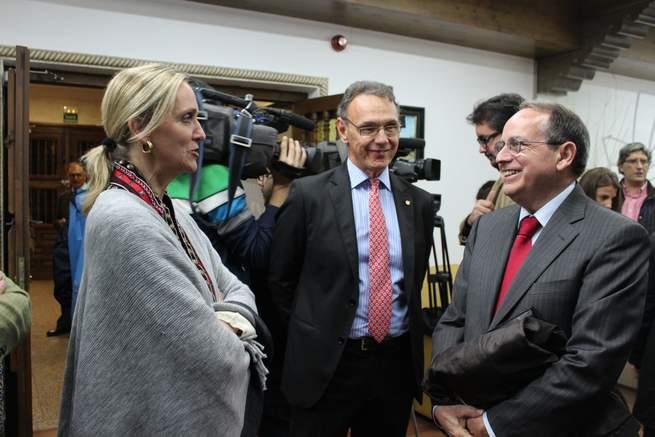 """imagen de Casero: """"Cospedal ha conseguido dotar de viabilidad económica y financiera a Castilla-La Mancha"""""""