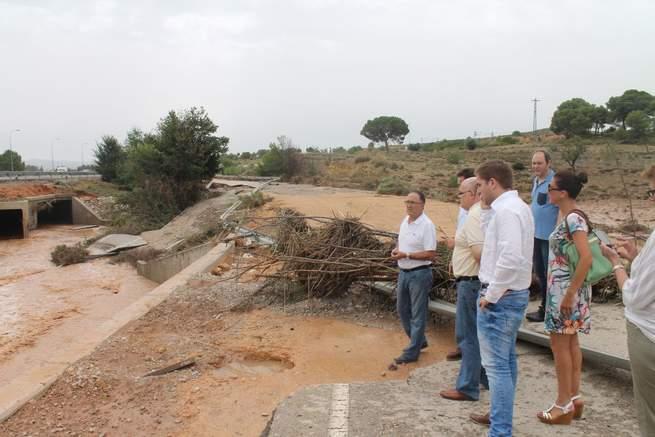 Imagen: La Junta mantendrá activado el PRICAM en fase de alerta tras las inundaciones en Almansa