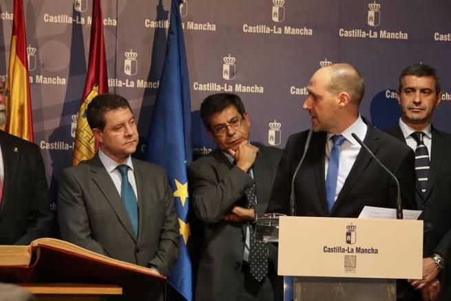 Imagen: El presidente García-Page anuncia una Ley para la constitución de empresas en las zonas más desfavorecidas de la región