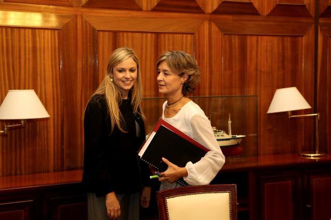 """Imagen: La consejera de Fomento califica de """"decepcionante"""" la reunión con la ministra de Agricultura"""