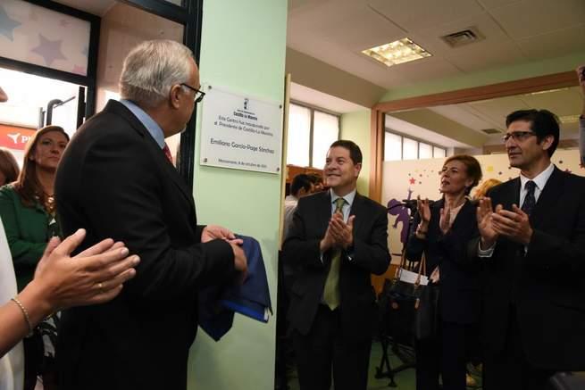 Imagen: El presidente García-Page anuncia la universalización del servicio de atención temprana en Castilla-La Mancha