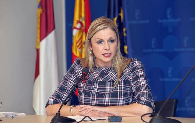 Imagen: La consejera de Fomento confirma el compromiso del Gobierno regional con la Plataforma Logística de Talavera