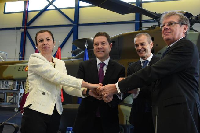 Imagen: Castilla-La Mancha regulariza con más de 5 millones de euros el programa regional de investigación y desarrollo aeronáutico