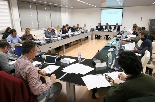 """Imagen: """"Iniciamos una nueva etapa del Consejo Asesor de Medio Ambiente con una declaración contra el cambio climático"""""""