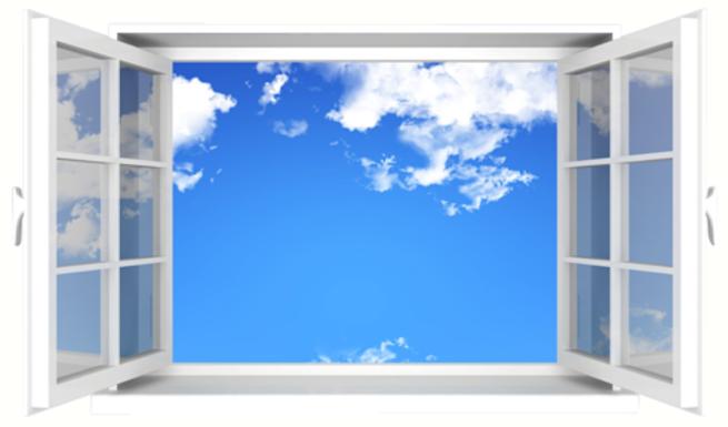 Imagen: Voy a abrirte mis ventanas, para dejar pasar el aire