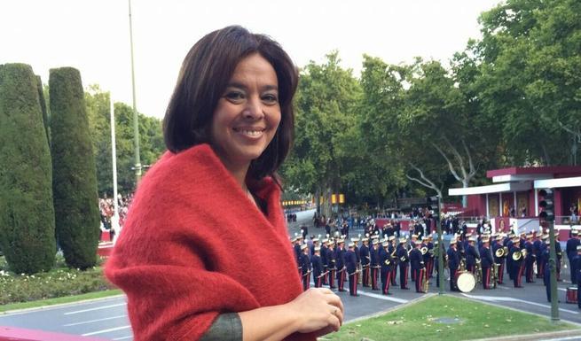 Imagen: La alcaldesa de Ciudad Real asiste a los actos conmemorativos del Día de la Hispanidad