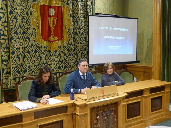 Imagen: El Ayuntamiento de Cuenca pone en marcha un nuevo Portal de Transparencia