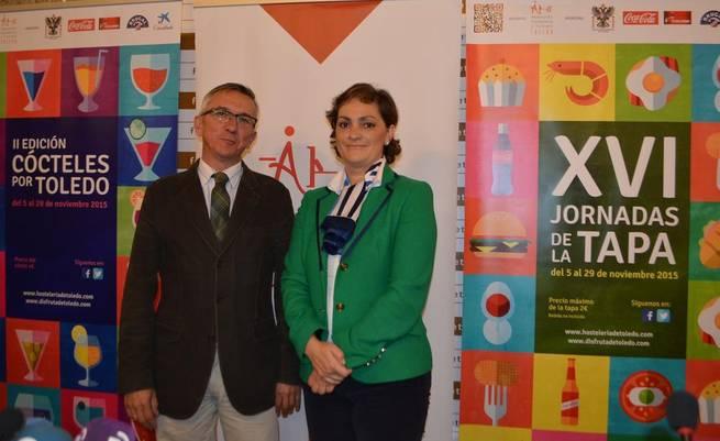 Imagen: La Diputación apoya la presentación de la XVI jornadas de la Tapa de Toledo y la II edición Cócteles por Toledo