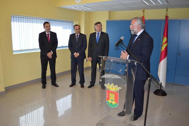 """Imagen: Ramos lamenta que la consejera del gobierno de Page no haya anunciado hoy """"un compromiso serio, formal y rotundo para con el nodo logístico y Talavera"""""""