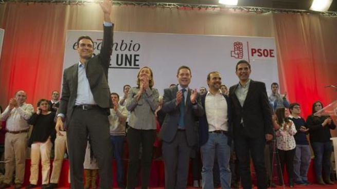 """Imagen: García-Page: """"Mientras sea presidente cualquier vecino de Guadalajara tendrá acceso a la sanidad de Madrid"""""""