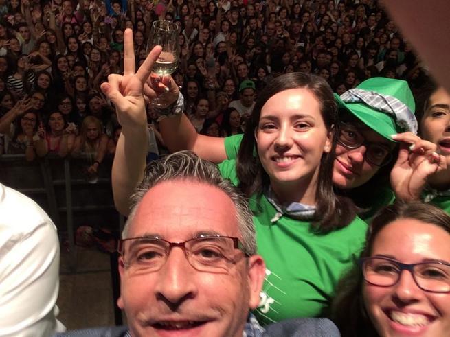 Imagen: El alcalde de Valdepeñas inauguró oficialmente las 'LXII Fiestas del Vino'