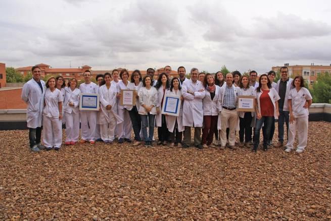 Imagen: Enfermeras del Mancha Centro, premio nacional por estudiar la accesibilidad en hospitales para personas con baja visión
