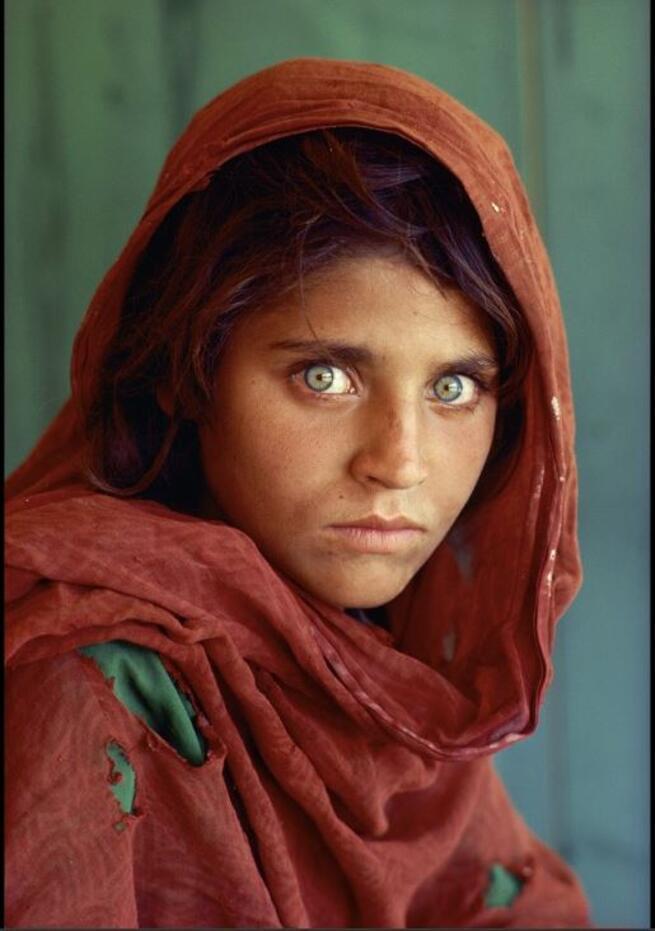 La niña afgana: Sharbat Gula