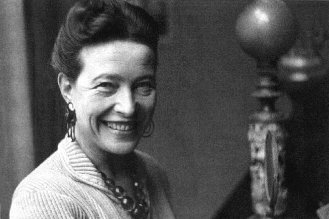 Imagen: Mujeres que dejaron huella en la historia, Simone de Beauvoir