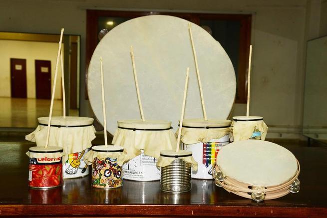 Imagen: Este sábado, los trillanos aprenderán a construir sus propios instrumentos musicales navideños