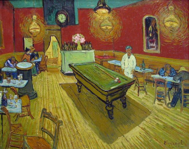 imagen de Café nocturno en Arles