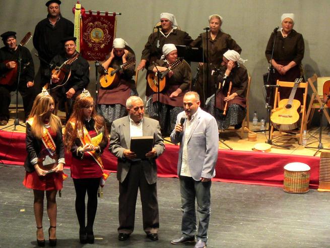 Imagen: Antonio Zaragoza Saelices recibió su premio Vendimiador de Honor 2015